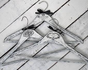 Set Clothes hangers Handmade