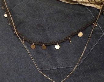 """Necklace """"m""""."""