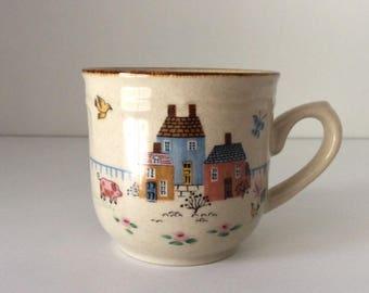 Heartland Collection Stoneware Cup | International Stoneware | Japan | Vintage
