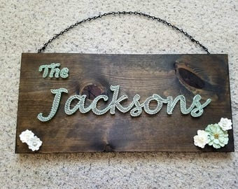 Custom Made Name Signs
