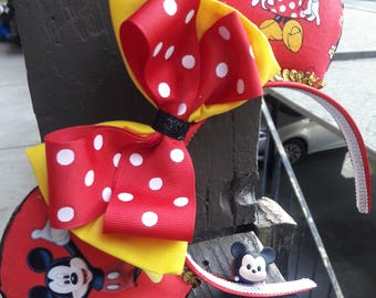 Mickey and Minnie character ears