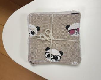 Washable wipe - Washable cotton - Micro Fiber organic bamboo