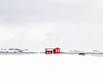 The Little Red House (Iceland)