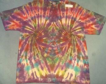 """tie dye t shirt adult xl""""spiralspiral"""""""
