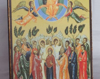 Icon Ascension of Jesus Christ
