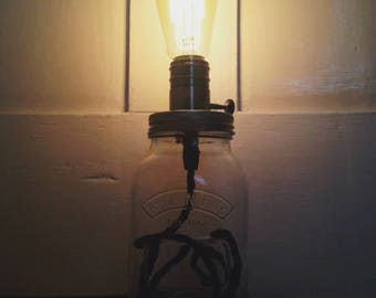 Kilner Jar Side Light