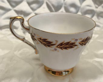 Vintages 1950's Pragon Elegance Footed Teacup Bone China Replacemants Discontinued
