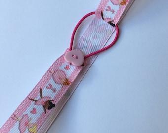 Ballerina Ribbon Bookmark