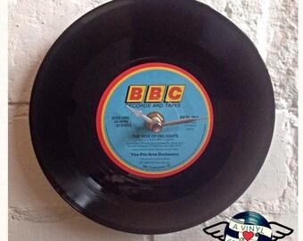 Vinyl Record Clock BBC DRAMA The Box of Delights unique wall clock desk clock
