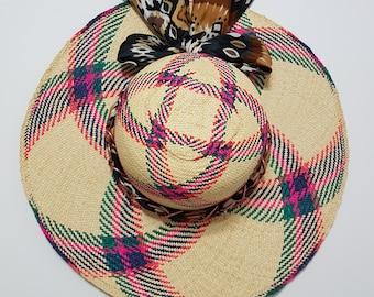 Majestic Monarch Straw Summer Hat