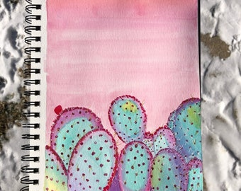 Pastel prickly pear