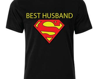 Best Husband -Shirt - available in many sizes and colors