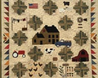Farm Life Quilt Kit & Pattern