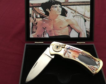 Bruce Lee commemorative knife