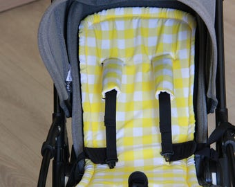 seat stroller liner with strap, stroller pad, pram strap covers, Bugaboo seat, baby carriers&wraps, stroller seat liner, Babyzen Yoyo,
