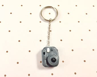 Mini Polaroid Camera Keychain