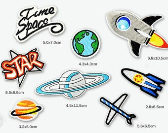 outer space Patches