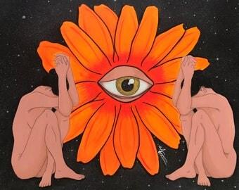 Eye of God; Original art prints
