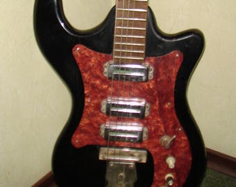 Elta Electric Guitar USSR Soviet Vintage and Rare