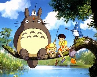 Studio Ghibli's My Neighbor Totoro CUSTOM PAINTED SHOES!