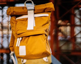 Nomadera Carrot — a handmade backpack designed for weekend travelers