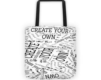 Create Your Own All-Over Tote Bag