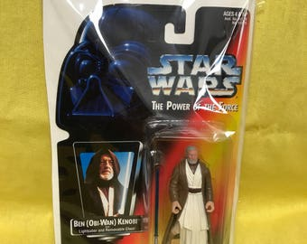 Starwars Ben Kenobi Kenner Action Figure