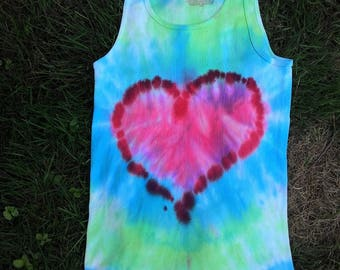 Love Is All You Need- tie dye tank
