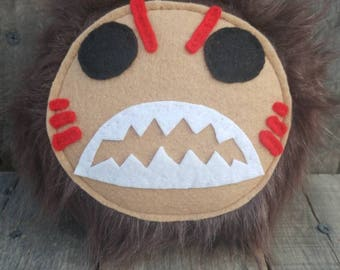 Stuffed monster, stuffed animal, Kakamora, Moana, Moana plush, plushie, Kakamora stuffed monster, Disney Moana