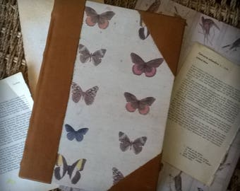 Beautiful handmade Vintage Butterfly design Journal CLEARANCE