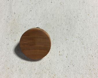 cherry wood earring
