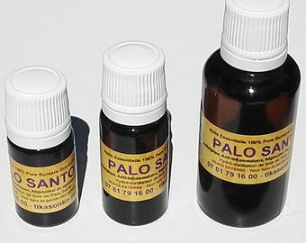 Essential oil 100% pure Palo Santo - very high vibrational rate - Fabrication Artisanale shamanic
