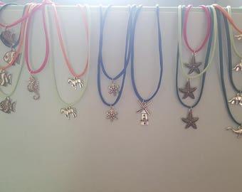 Kids  nylon necklace