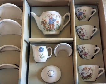 Vintage East German China Toyset