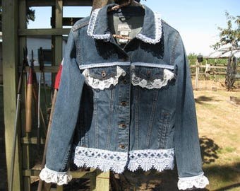 Embellished Jean Jacket JJ105