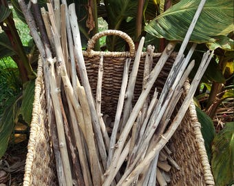 Bulk Pacific Coast Locally Sourced Driftwood Bundles- Size Medium