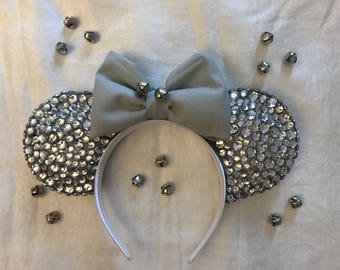 Silver Bells Minnie Ears