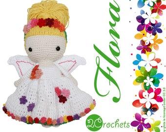 Flora - Amigurumi Doll // Crochet Pattern