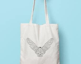 Geometric eagle bag (duplex)