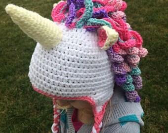Crochet Unicorn Hat PATTERN