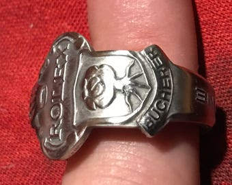 Rolex spoon handle ring