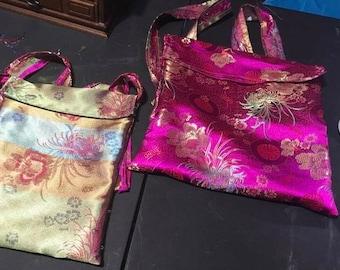 Chinese Fabric Bag set