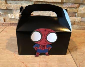Spiderman  - Favor Boxes