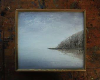 Fog - Original Oil Painting by Alexander Hagendorf - Framed & Ready To Hang