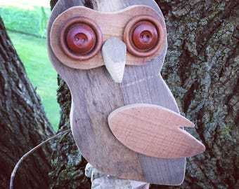 Pallet Wood Owl