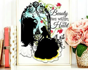 Beauty Lies Within the Heart.