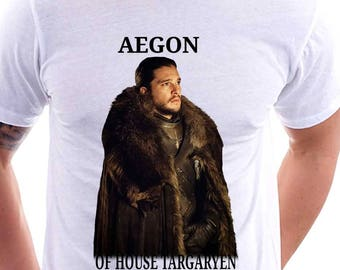 Aegon Targaryen Jon Snow Game of Thrones Shirt