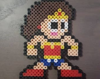 Wonder Woman Perler Bead Sprite