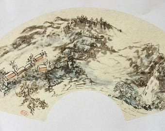 Traditional Chinese Watercolor Paintings on rice paper