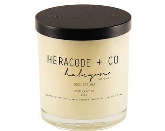 100% Soy Wax Candle